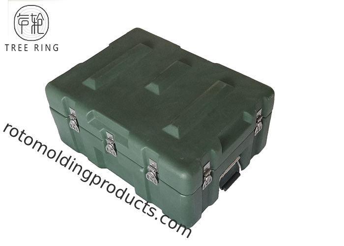 MI 700 Large Storage Roto Molded Cases , Tooling And Avionic Plastic Transport Cases