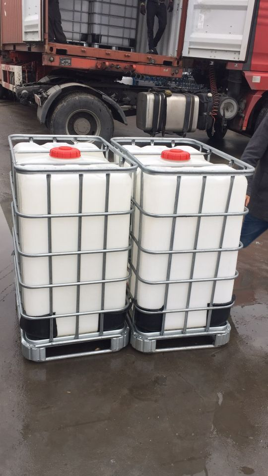 PE 500L Middenmassa Herstelde Ibc Containers voor Chemisch Opslag Recycling